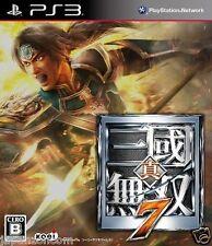 Used PS3 Shin Sangoku Musou 7 SONY PLAYSTATION 3 JAPAN JAPANESE IMPORT