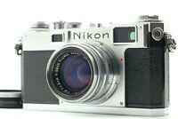 【 MINT+ 】Nikon S2 Rangefinder Film Camera w/ Nikkor-H.C 50mm f/2 Lens from JAPAN