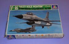 *  ITALERI  *  F-16 MULTI-ROLE FIGHTER  *  1:72 SCALE UNMADE PLASTIC KIT  *
