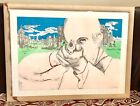 """Vintage Larry Rivers USA (1923-2002) """"Ready Aim"""" Silkcreen On Paper Art Signed"""