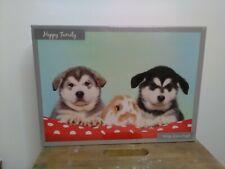 Animals husky  Dogs/rabbit Jigsaw puzzle 1000 piece  unopened  puzzle
