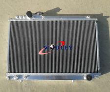 ALUMINUM ALLOY RADIATOR TOYOTA SUPRA MK3 JZA70 1JZ-GTE TWIN-TURBO 2.5L 1988-1993