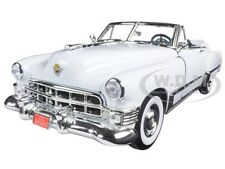 1949 CADILLAC COUPE DE VILLE CONVERTIBLE WHITE 1/18 BY ROAD SIGNATURE 92308