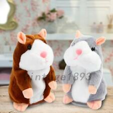 Talking Hamster Repeats What You Say Electronic Pet Talking Plush Toy Buddy