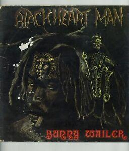 """ BLACKHEART MAN."" bunny wailer. ISLAND RECORDS UK orig L.P. 1976."