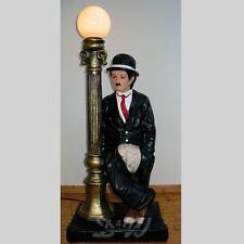 CHARLY CHAPLIN mit Laterne 83 cm CHARLIE Deko Figur Werbefigur Dekoration