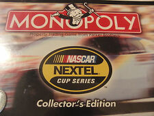 NEW Sealed Collector's Edition Nascar Monopoly Board Game Parker Brothers