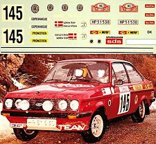 FORD ESCORT RS 2000 RALLYE MONTE CARLO 1979 TERP STEEN #145 1:43 ADHESIVO