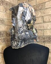 UNDERBRUSH Mossy Oak Camo Hunting Mesh Head Cover