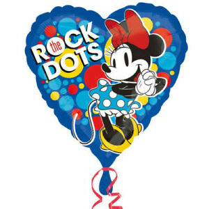 "Minnie Mouse Minnie Rocks The Dots 18"" Foil Helium Balloon"