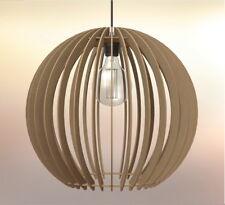 Lampadario rustico legno ebay for Lampadario legno moderno