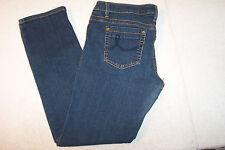 DKNY JEANS Womens Stretch Skinny Jeans Mid Rise Blue Denim Sz 32R