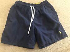 Boys Ralph Lauren Navy blue Swimming Trunks Size 8 Years