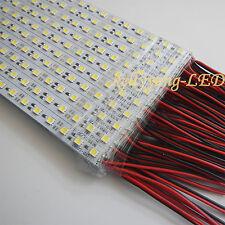 5M 10PCS 0.5M 5050 White 36LED LED Rigid Hard Light Bar Strip Super Bright 12V