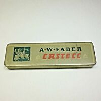 Vintage AW FABER CASTELL Empty Pencil Tin
