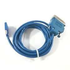 Cisco CAB-SS-V35MT 72-1428-01 Smart Serial Cable V.35 DTE, Blue