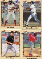 1998 Team Best Complete Minor League Baseball Series 2 50 Card Set Berkman