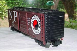 MTH Premier Northern Pacific 40' Single Door Boxcar. 20-90007c  #17473 train