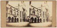 Como Cattedrale Broletto Italia Foto Stereo Vintage Albumina c1860