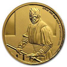 Niue -2018- Star Wars Classic: Darth Maul 1/4 oz Gold Coin