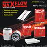 Air Oil Cabin Filter Service Kit Fit Honda Accord 9th Gen Petrol V6 3.5 Maxflow®