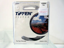 New Tiffen 43mm Clear Filter 43CLR