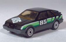 "Matchbox 1983 Ford Sierra XR4i 4x4  3"" 1:58 Black Scale Model Race Car"