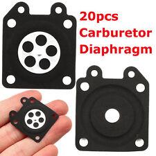 20pz Diaframma Carburatore Motosega Membrana Gasket Diaphragm per Walbro 95-526