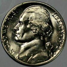 1972 D BU Uncirculated Jefferson Nickel