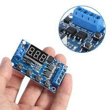Trigger Cycle Timer Delay Switch 12 24V Circuit Board MOS Tube Control ASS