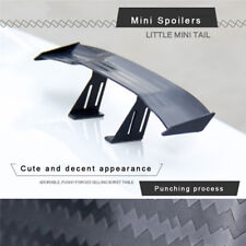 Universal Mini Spoiler Car Rear Tail Decoration Spoiler Wing Carbon Fiber Auto