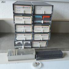 Diamagazin Lehrdias Europa Aufbewahrungsboxen 10+1 Boxen  + Magazin + Dias