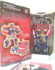 TransFormers 20th Anniversary Optimus Prime MP-01 Bonus Poster MIB Die Cast 2004