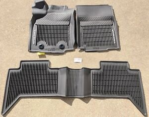 2016-18 OEM Toyota Tacoma 3PC All Weather Floor Liners Mats Double Cab Automatic