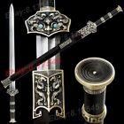 Chinese KungFu Dragon Dao Sword Folded Steel/Copper/Ebony Han Tang Saber Jian