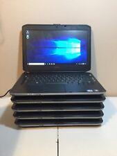 Lot of (5) Dell Latitude E5430 Intel Core i5-3210M @2.5GHz 4GB 320GB Win10