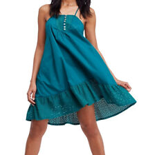 Free People   Calico Trapeze Dress   Green   S