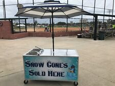 Snow Cone Concession Sink
