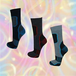 6 - 24 Paar Thermo Socken dicke Winter Strümpfe Freizeit warme Socken Ski Sport