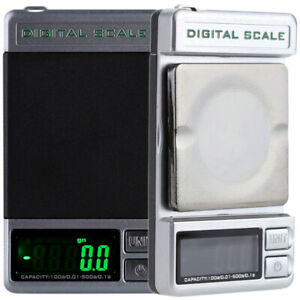 KKmoon 500g / 0.1g 100g / 0,01 g Dual Genauigkeit Digitalwaage Gewichtwaage Z3U0