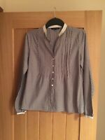 Laura Ashley womens clothing size 10 Black And White Vintage Cotton Never Worn