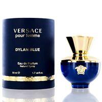 Versace Dylan Blue for Women by Versace Eau De Parfum spray 1.7 Oz -NIB