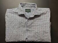 Rodd & Gunn Mens Shirt Size XL Long Sleeve Original Fit Check