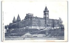 Early 1900s Holy Cross College, Worcester, Ma Postcard