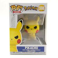 Pokemon Pikachu Flocked #598 Funko POP Shared NYCC 2020 Exclusive