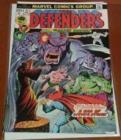 Defenders #11, FN/VF 7.0, Dr. Strange, Silver Surfer, Valkyrie, Namor