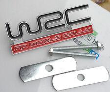 3D Metal Auto Car Front Hood Grilles Badges Emblems Decals For WRC Racing sports
