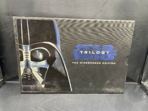 STAR WARS TRILOGY THX WIDESCREEN EDITION VHS LIMITED EDITION COLLECTORS BOX SET