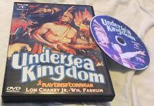 Undersea Kingdom Vol 1 (DVD, 1936) Lon Chaney Ray Crash Corrigan