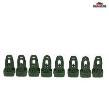 EasyKlip 220 lbs Tarp Clip Green 8 Pack~ New